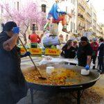 大鍋パエリア。具材はArroz al Hornoみたいでしたが。