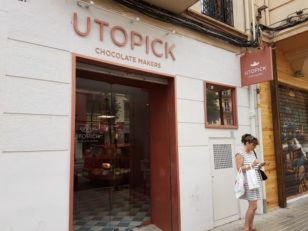 「UTOPICK CHOCOLATES」の外観