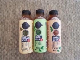 UMAI CHA。日本の茶葉を使用した無糖茶。