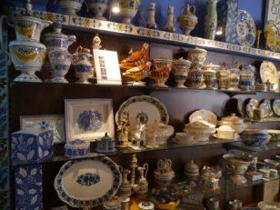 La Ceramica Valencianaのショップ。