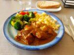 イベリコ豚の頬肉の煮込み。