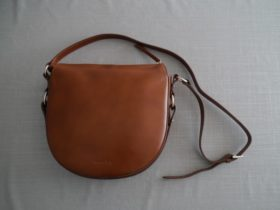 Massimo Duttiのレザーショルダーバッグ