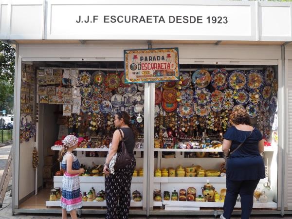 バレンシアの陶器市。