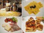 ロレンソさんのチーズとミランダさんのパスタをディナーで頂きました。