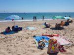 バレンシア郊外のEl Salerのビーチ。