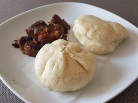 海外仕様パナソニックのホームベーカリーで手作り肉まん。