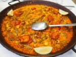 バレンシア風パエリア(Paella Valenciana)