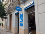 バレンシア中心部のDecathlon City。